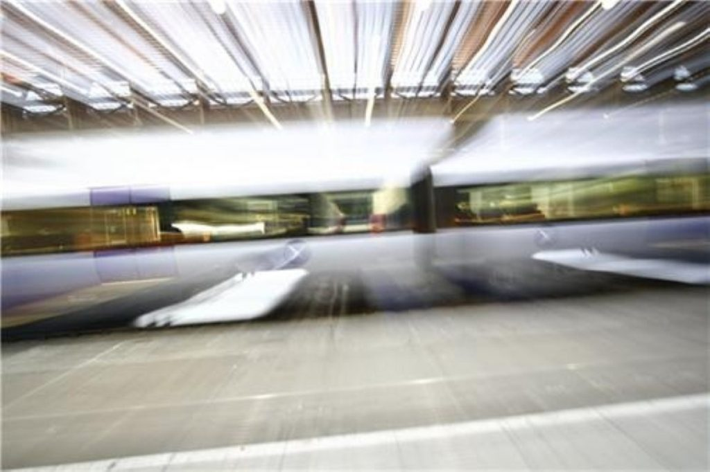 Age of speed: High speed rail will travel at 250 miles an hour.