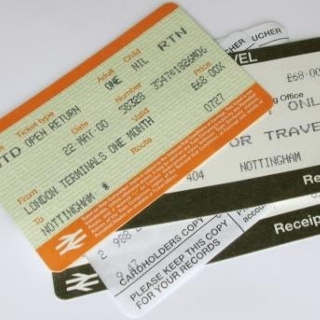 Rail fares are going up again