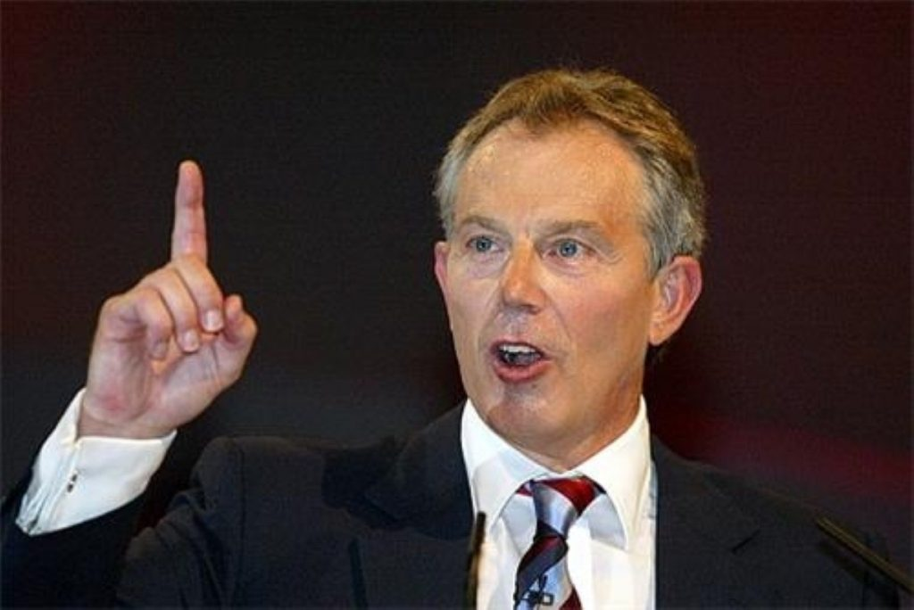 Tony Blair's office strenuously denies he is now worth £75 million