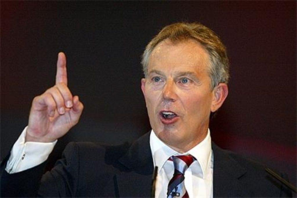 Blair to make announcement next week