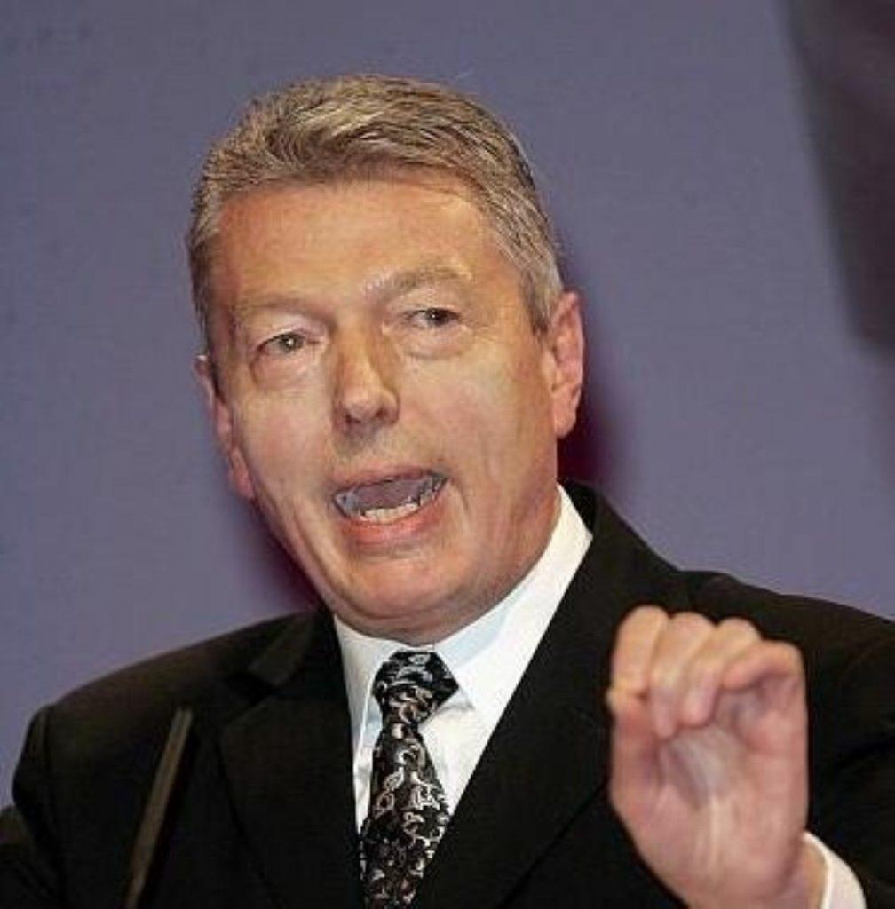 Education secretary Alan Johnson unveils £2.7m for school trips