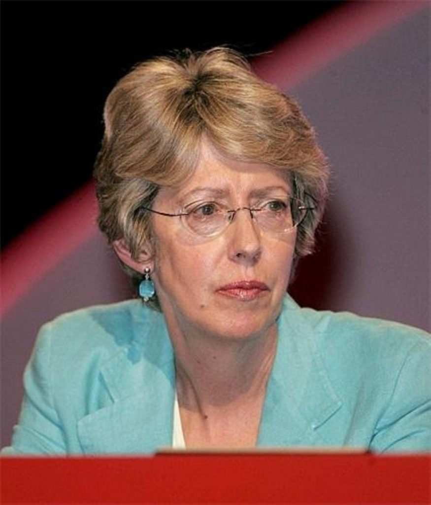 Patricia Hewitt says she has been questioned by police