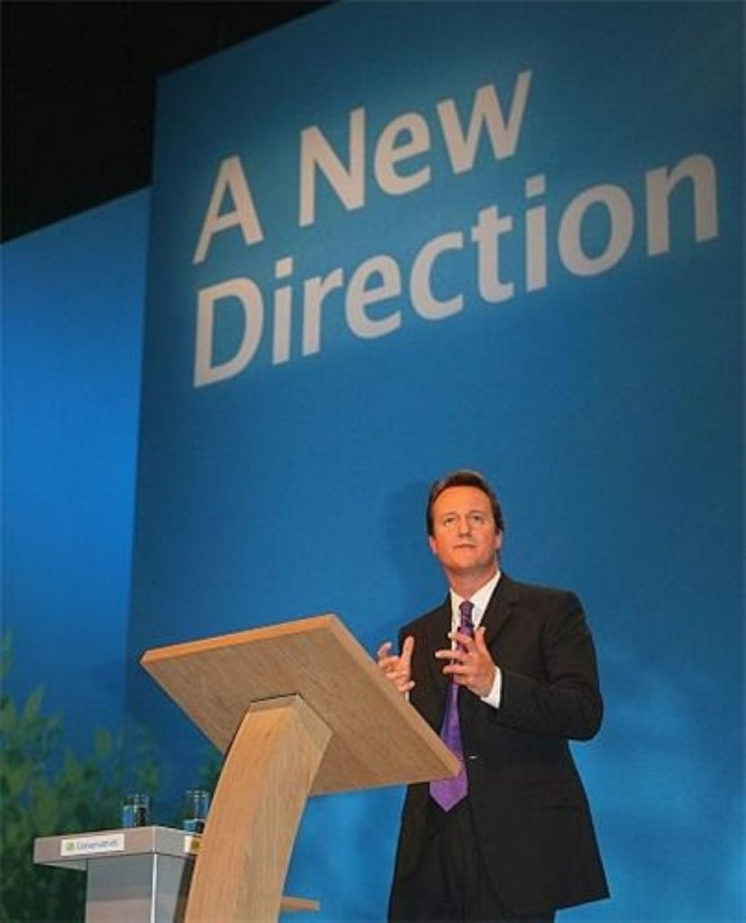 Cameron accused of move to right