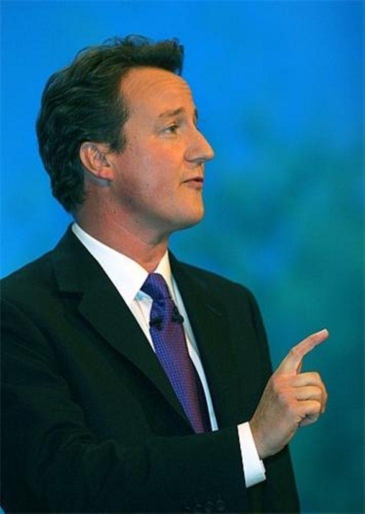 Cameron criticises 'hysterical' reaction