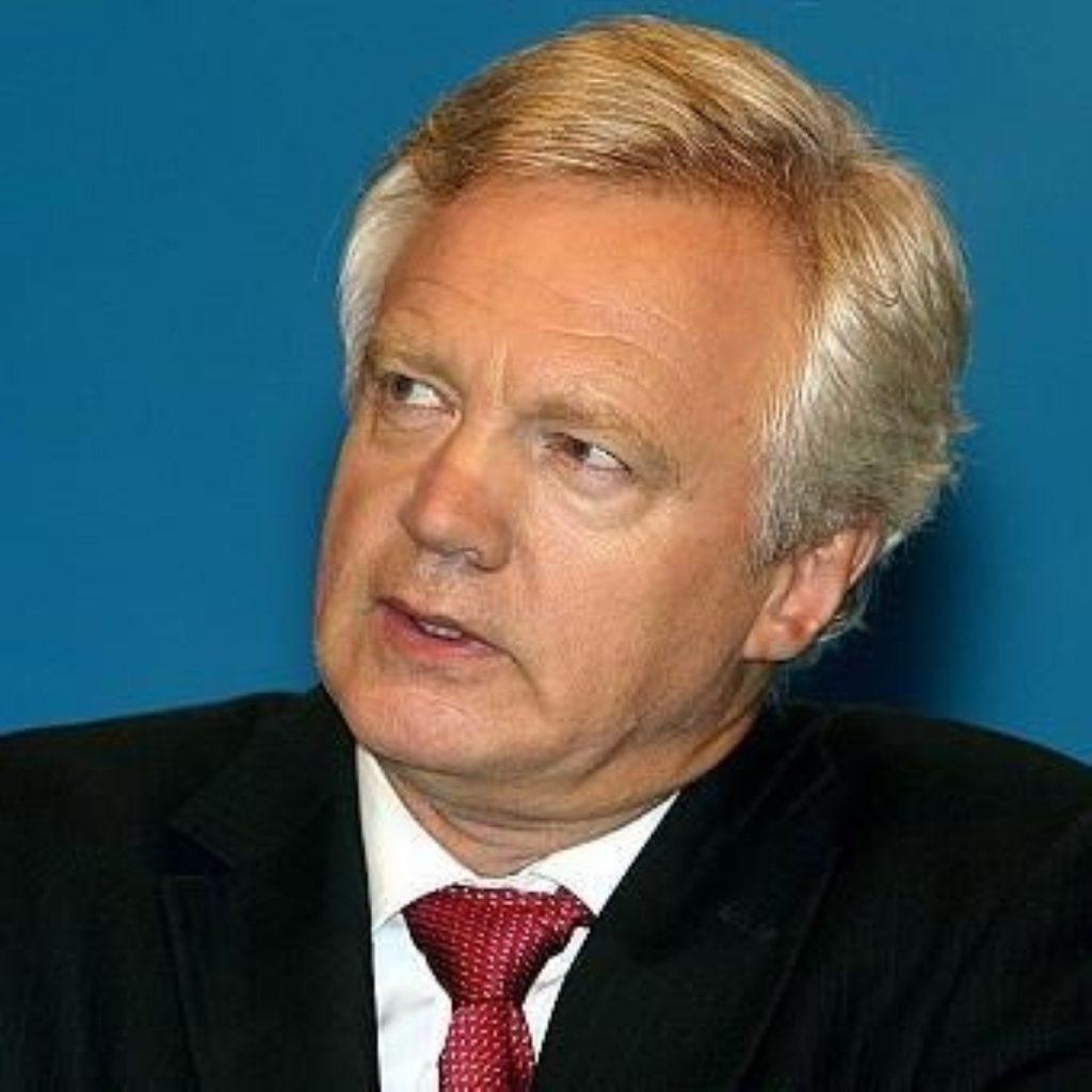 David Davis clashes with David Cameron over gay adoption rights