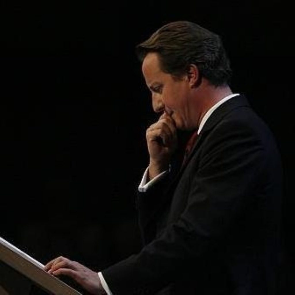 David Cameron faces growing unrest within his party