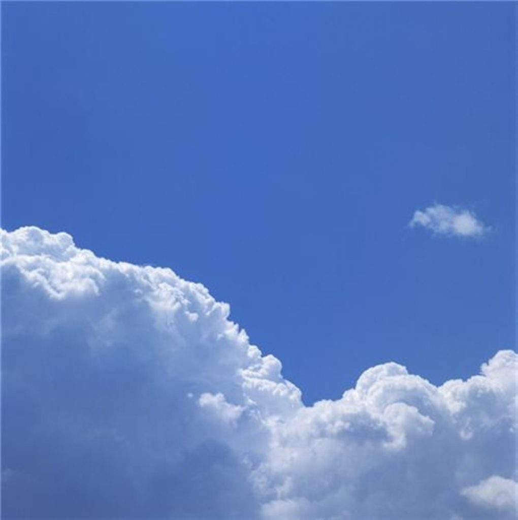 Time for some white cloud thinking. That's the phrase, right?