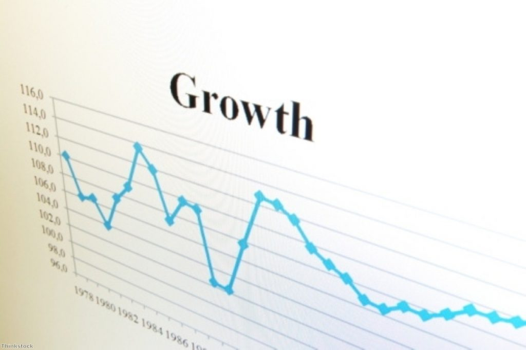 Growth figures have been downgraded since the coalition came to power