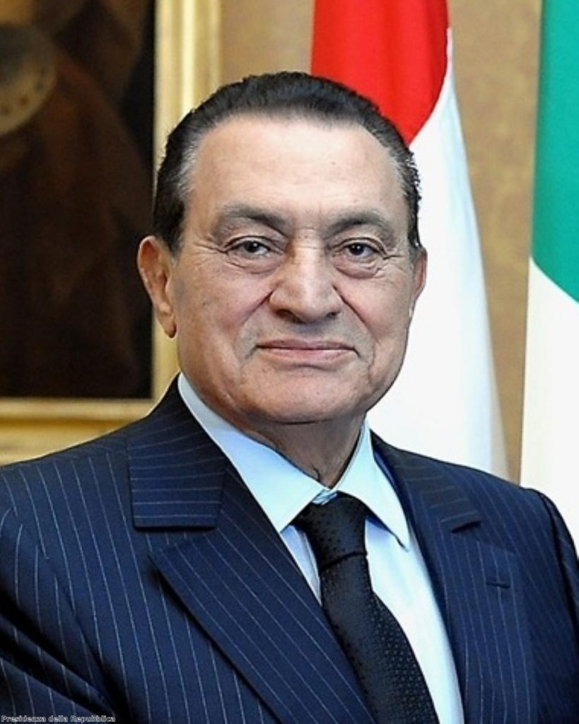 Hosni Mubarak's assets reportedly worth £1.5bn
