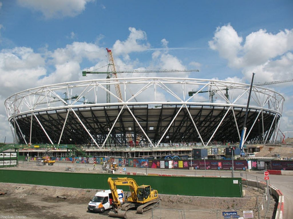 Private firms failing the Olympics?