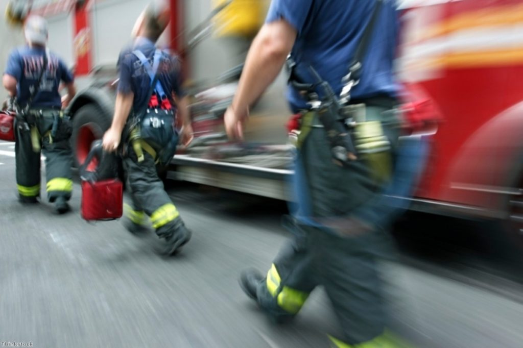 Firemen are no strangers to industrial dispute