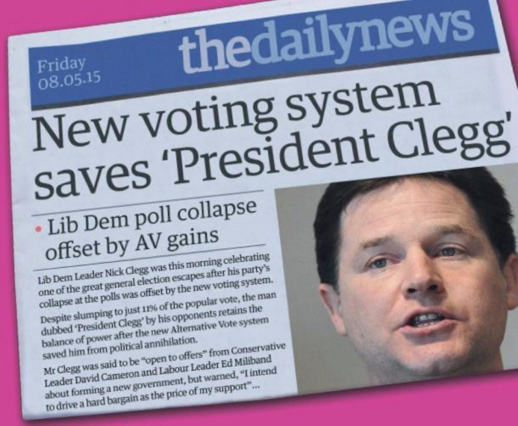 'No' campaign arguments dashed 'President' Clegg's hopes