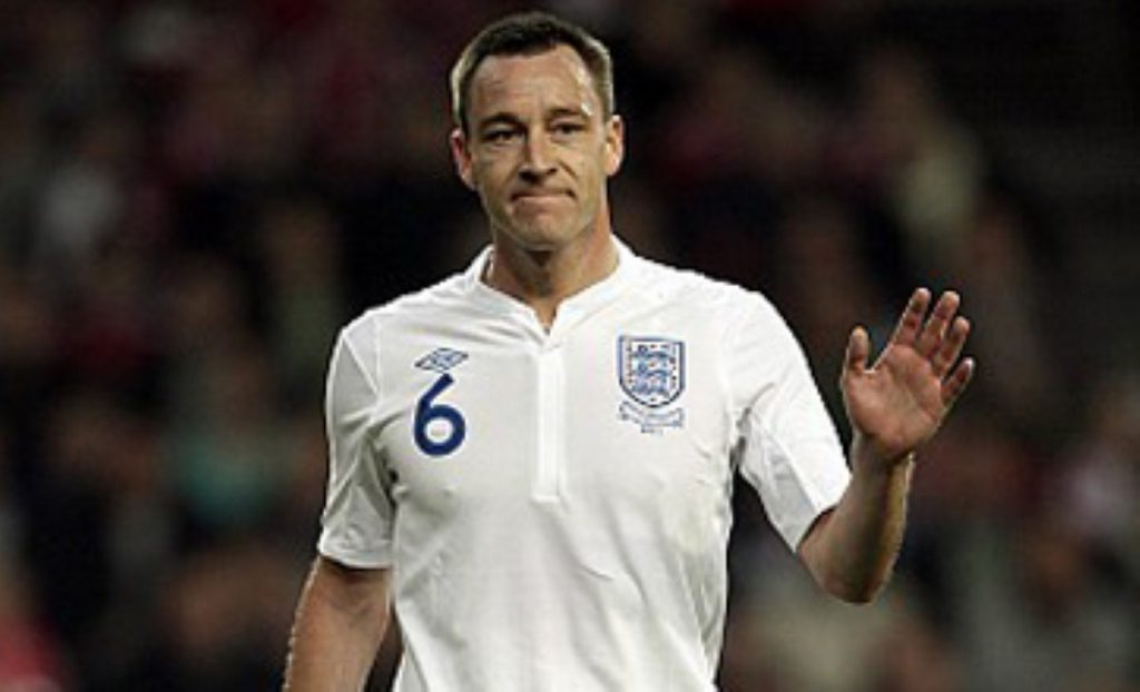 John Terry is captain of England and Chelsea football clubs