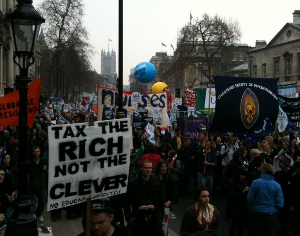 March for the Alternative lived up to its 'family' billing