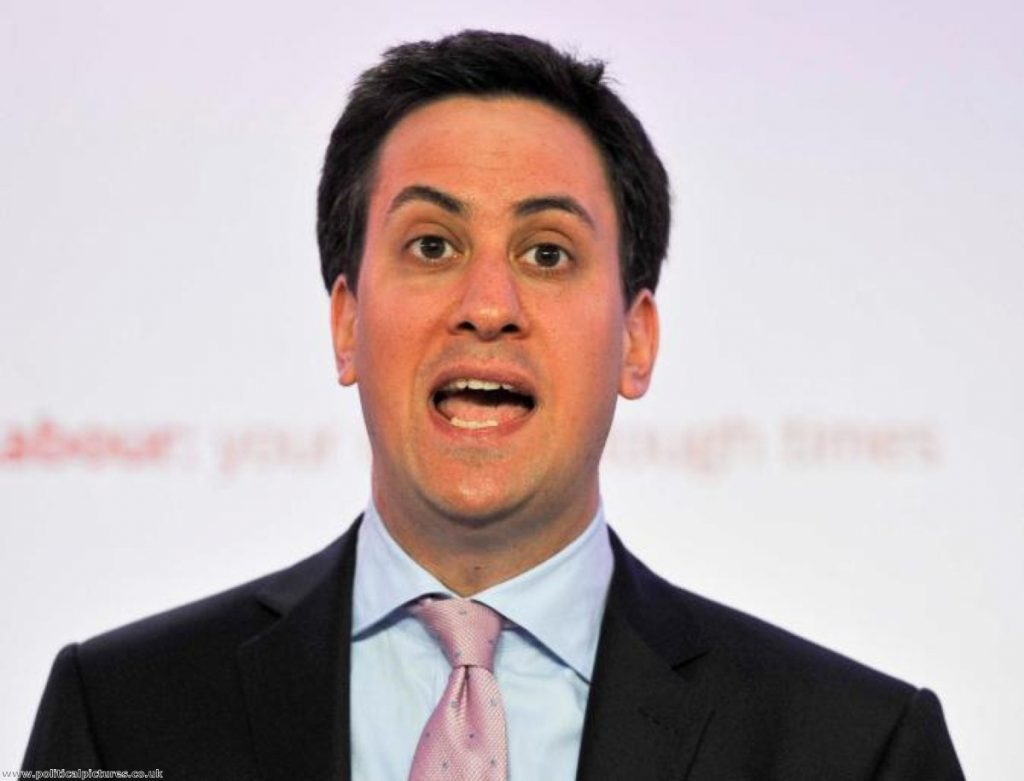 Miliband takes on Ukip: Photo credit: Politicalpictures.co.uk