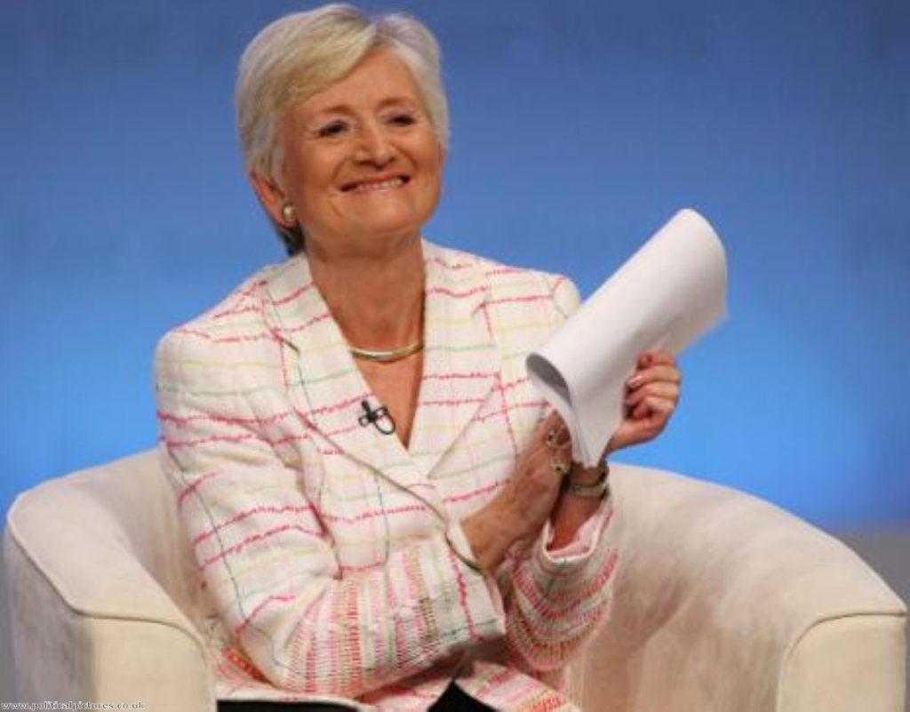 Baroness Pauline Neville-Jones stepped down 'at her own request'. Photo: www.politicalpictures.co.uk