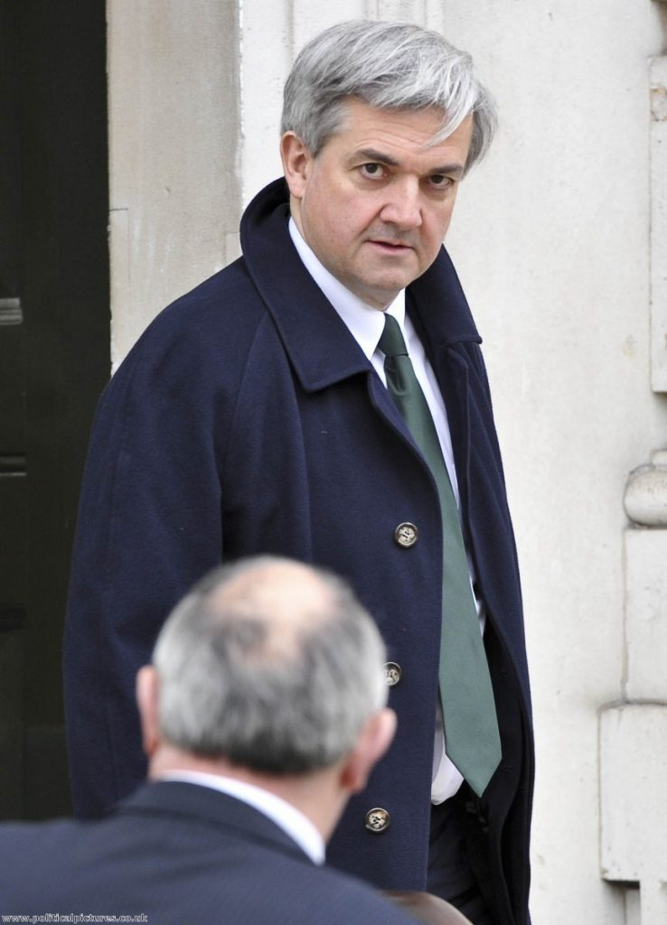 Chris Huhne looks set to continue as energy secretary while the polie look into the allegations. Photo: www.politicalpictures.co.uk