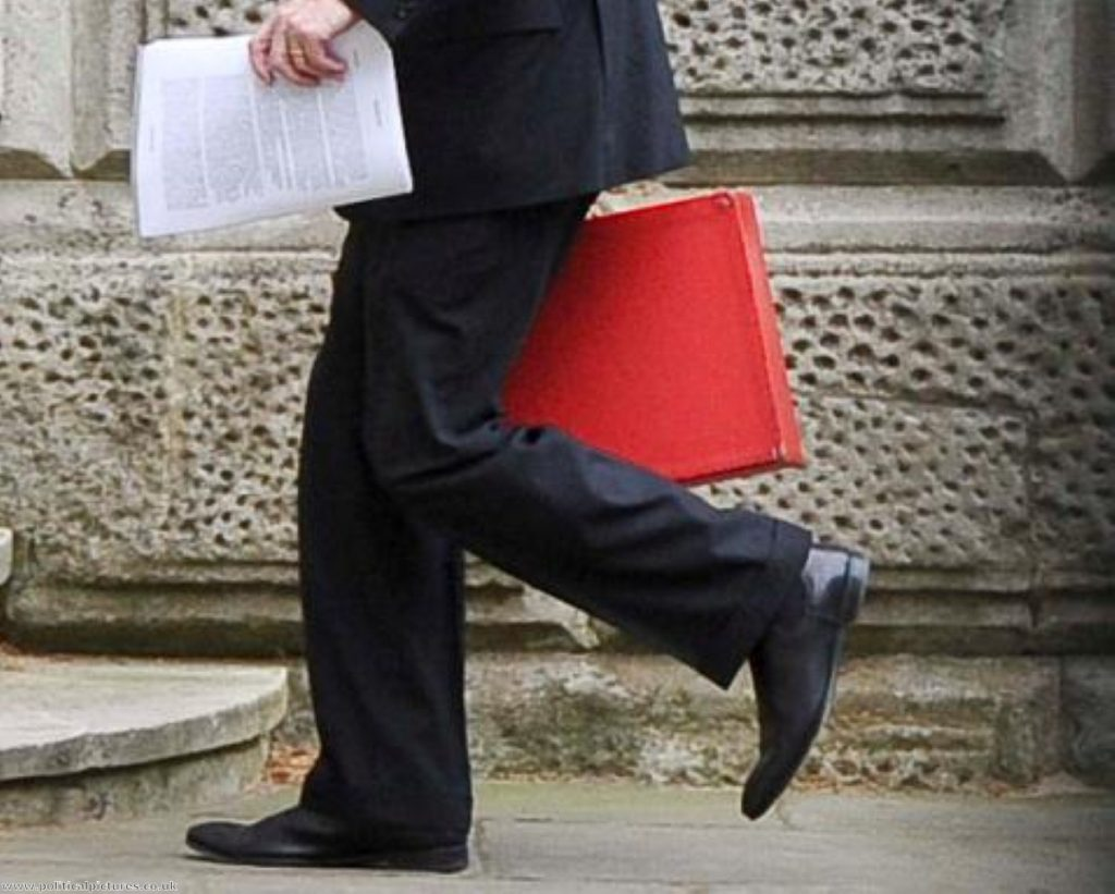 Guess the minister.... this one's William Hague. Photo: www.politicalpictures.co.uk