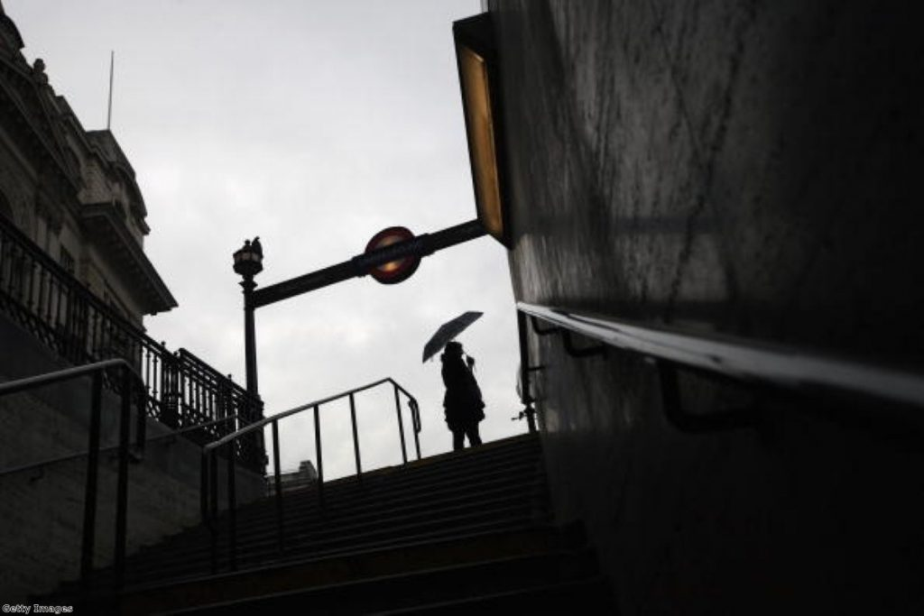 A strike causes chaos in London. Many commuters in the capital despised the RMT leader.