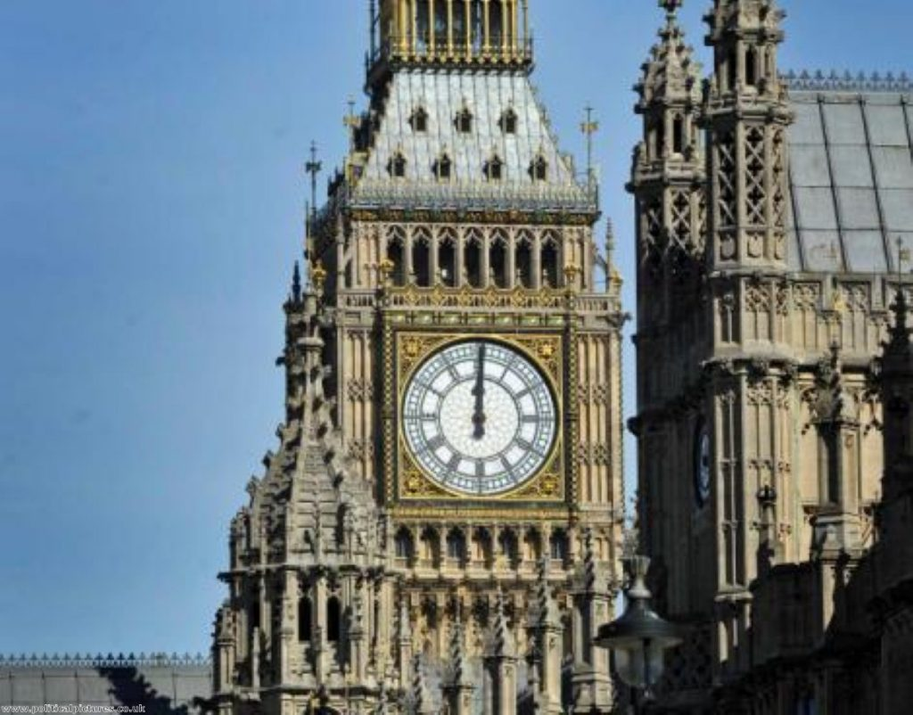 Time runs out for an EVEL deal. Photo: Politicalpictures.co.uk