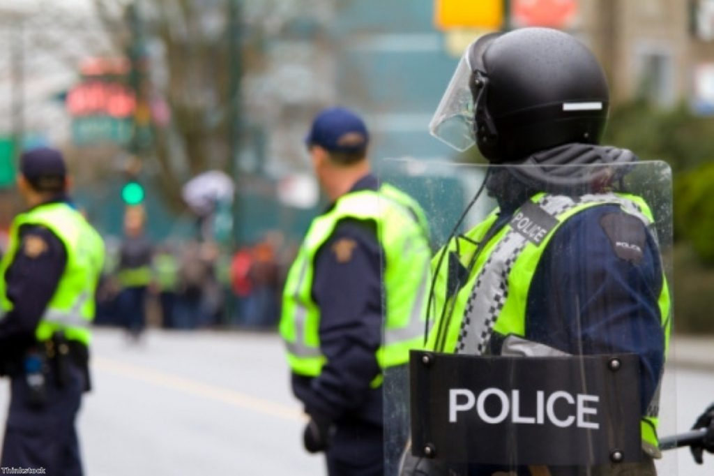 How would police cuts affect riot response?