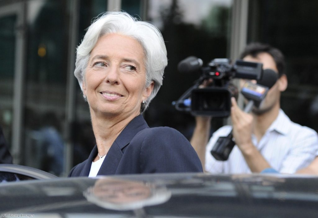 IMF president Christine Lagarde: The organisation has become increasingly critical of Osborne's austerity measures
