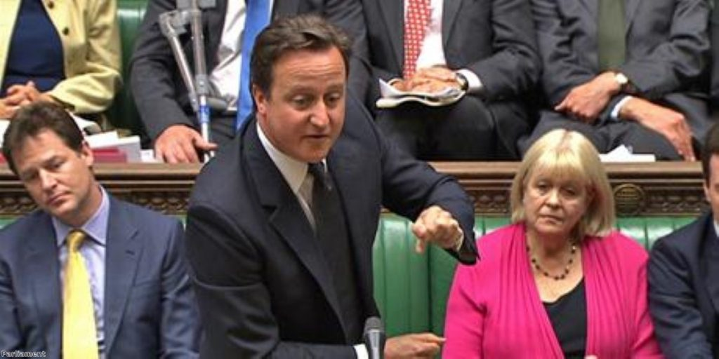 Cameron makes full statement on Afghanistan troop pullout