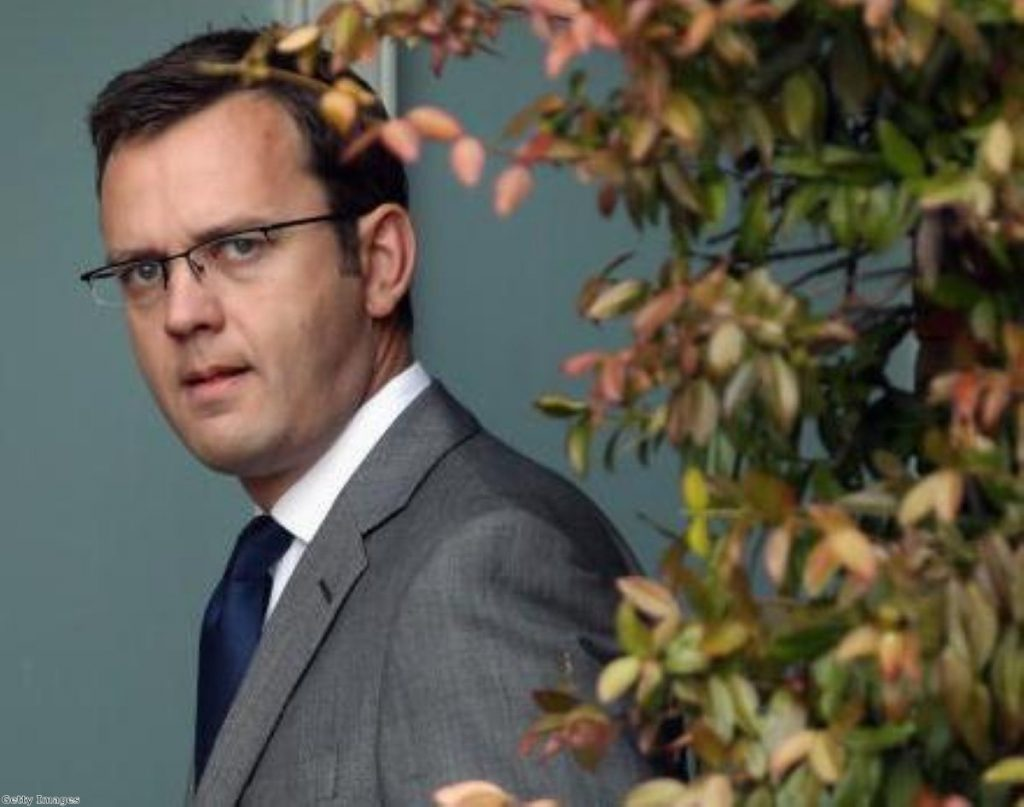 Andy Coulson met Neil Wallis at least once in Downing Street. Getty Images