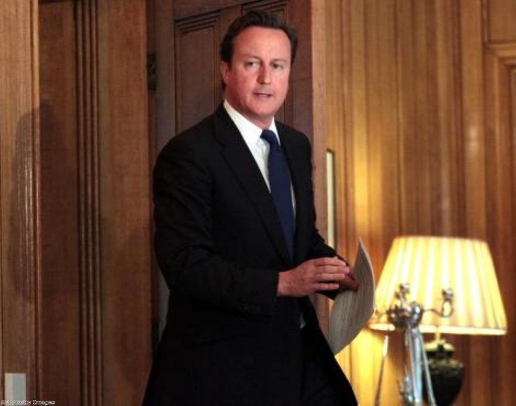 Cameron's performance has been criticised as hesitant by some commentators