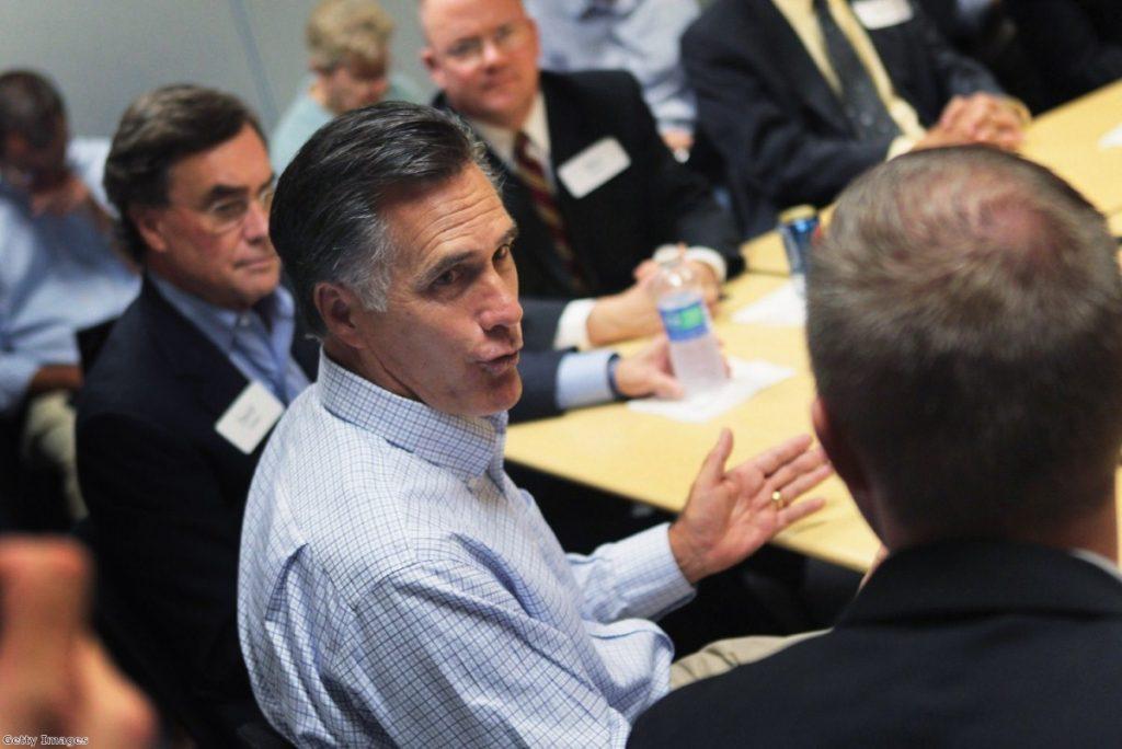 Under pressure: Romney demands Republican candidate steps down