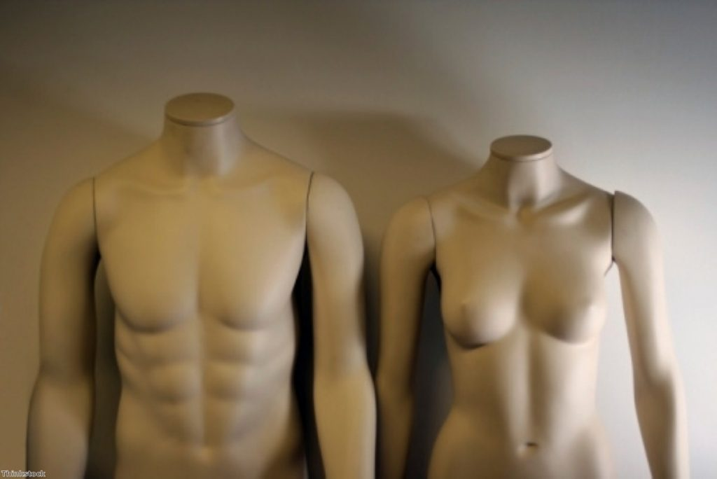 Size-10 mannequins are the norm on the British high street