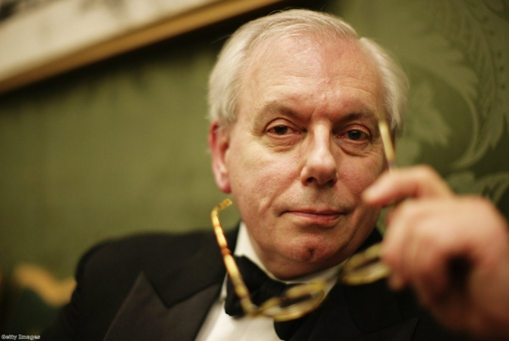 David Starkey poses for a photograph while attending the Morgan Stanley Great Britons Awards 2006