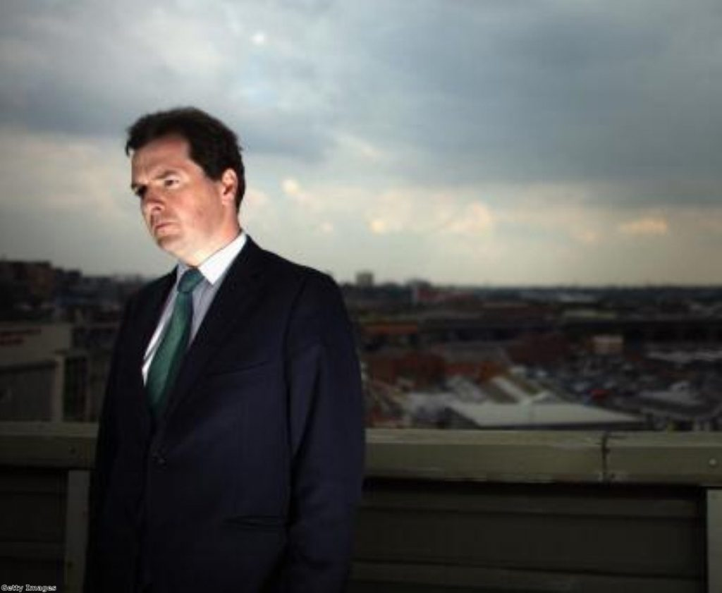 George Osborne: Not a dark lord of a wizard, despite his appearance