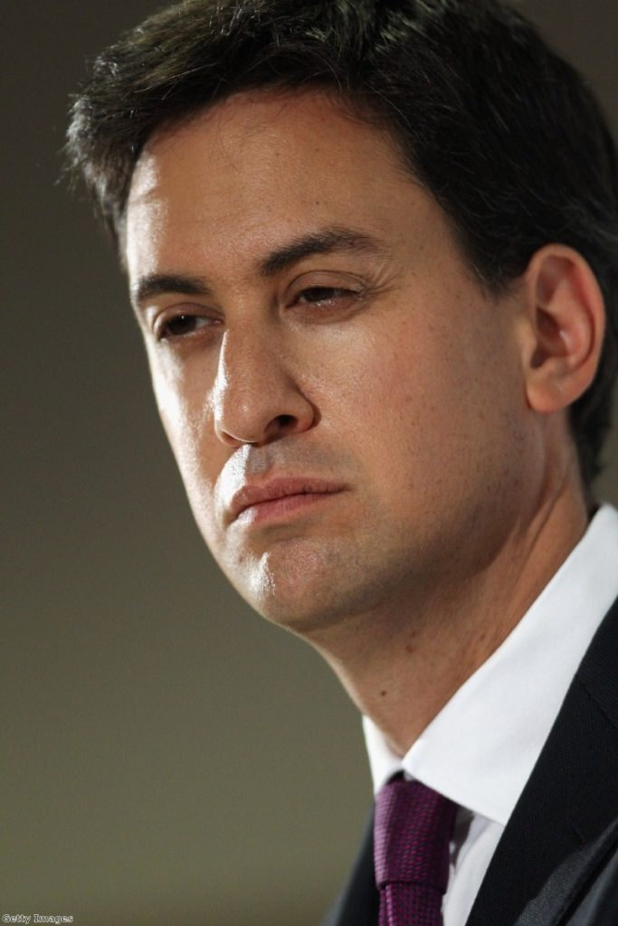 """Ed Miliband says it would be """"difficult"""" to work with Nick Clegg after the 2015 general election"""