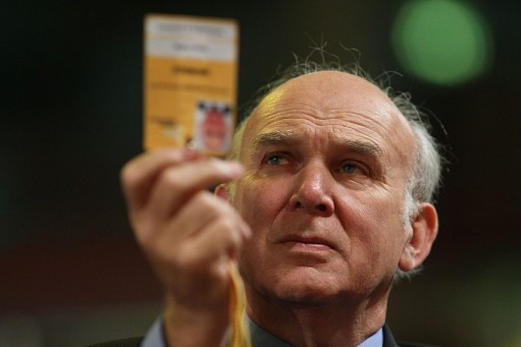 Vince Cable on the wrong end of some pro-Tory voting