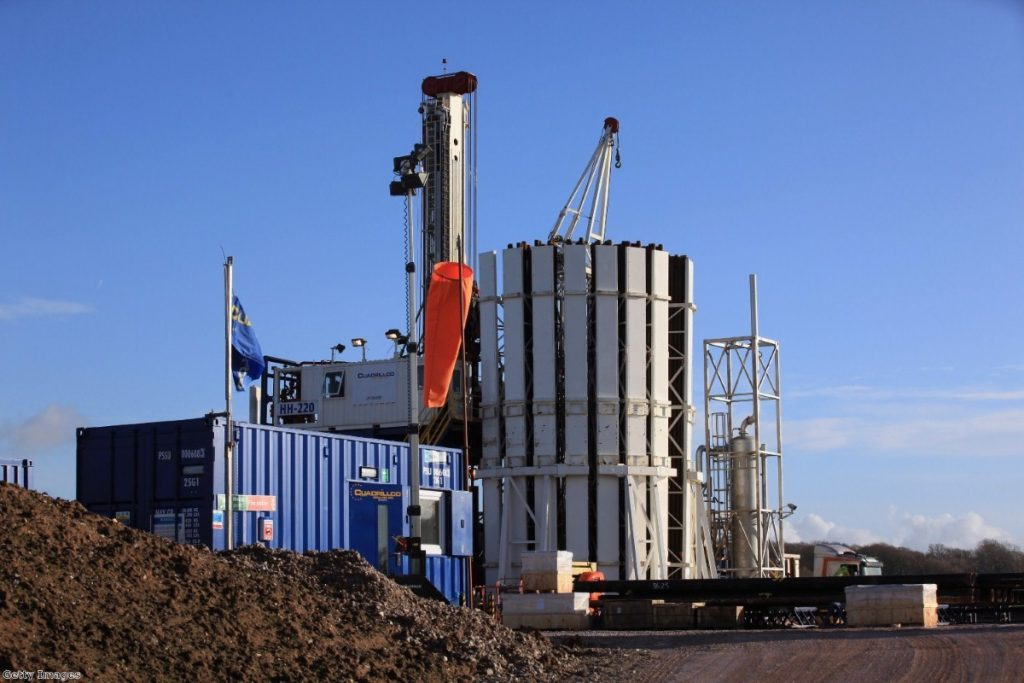Drilling for shale gas gets underway in Blackpool