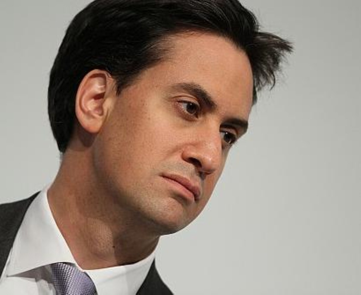 Embracing austerity? Ed Miliband left himself plenty of wriggle room.