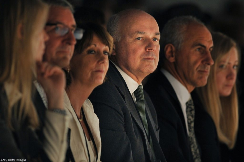 Iain Duncan Smith accepts the documentary producers' version of benefits Britain
