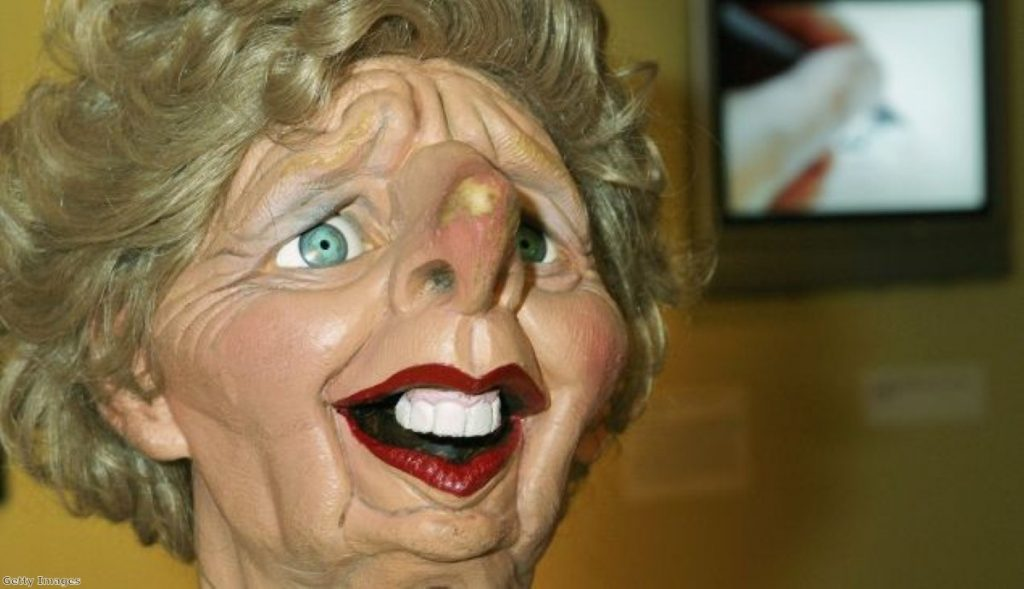 Satirists frequently mocked Margaret Thatcher for her low voice