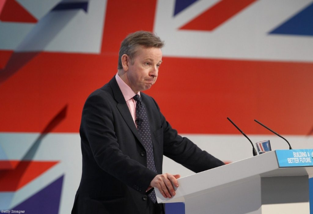 Gove: 'They want families to be inconvenienced.'