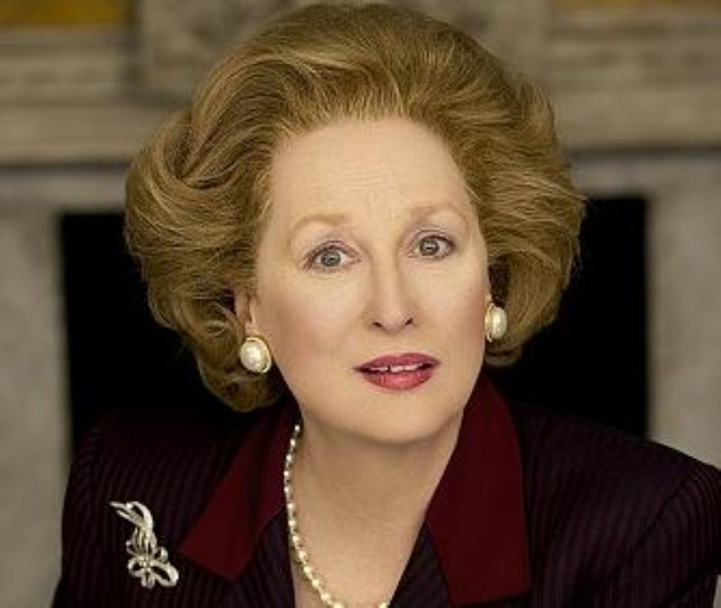 The Iron Lady stars Meryl Streep as Margaret Thatcher