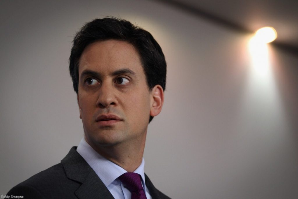 Ed Miliband remains angry over the attack on his late father