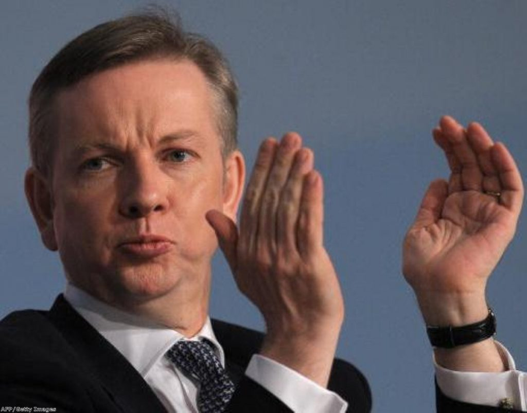 """Michael Gove's proposals for longer hours suffer a """"huge blow"""""""