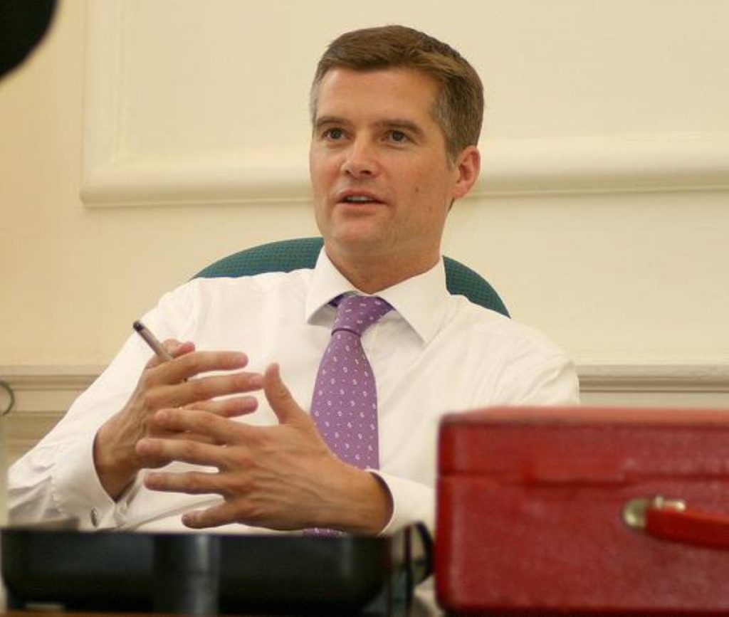 Mark Harper: Brought back into government as Isabella Acevedo is put in a detention centre