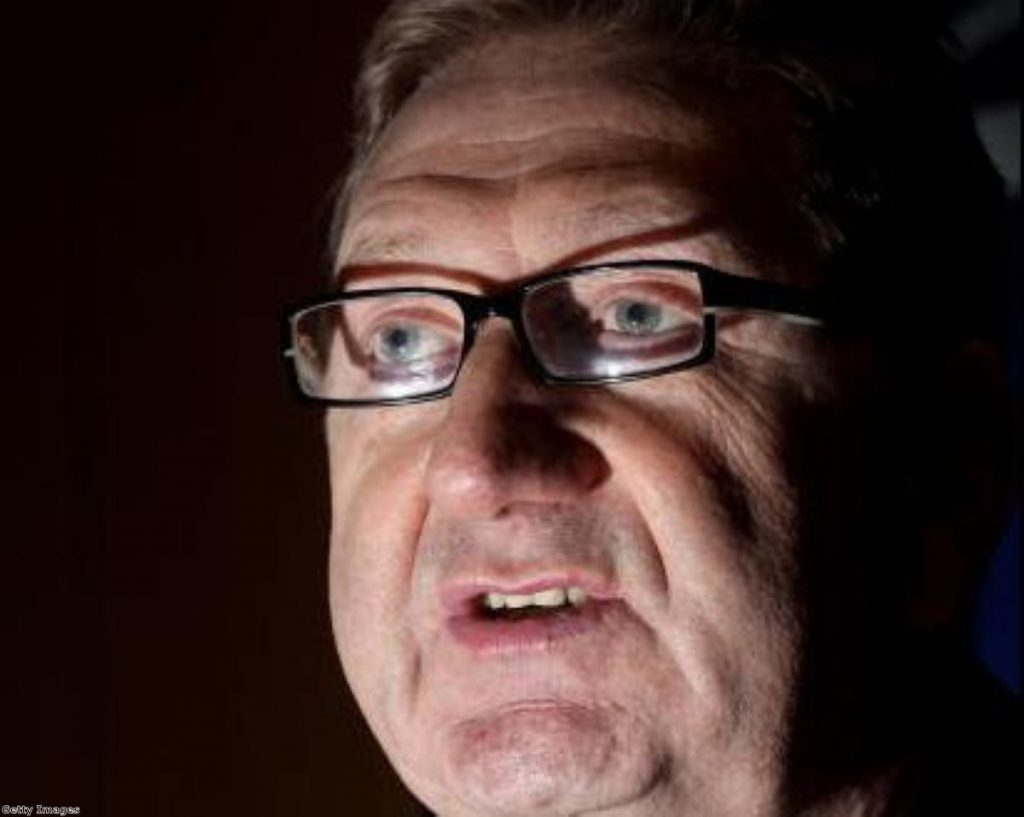"""Len McCluskey says trade unions face a """"hysterical smear campaign"""""""