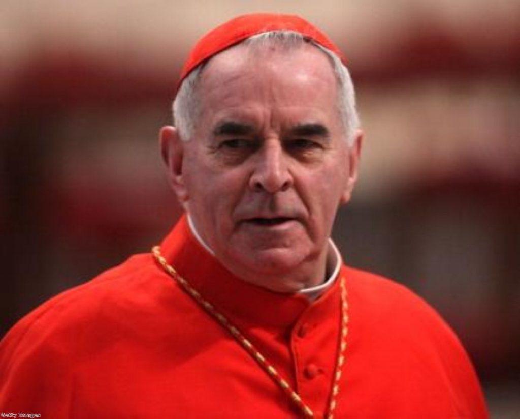Cardinal Keith O'Brien has retreated from public life.