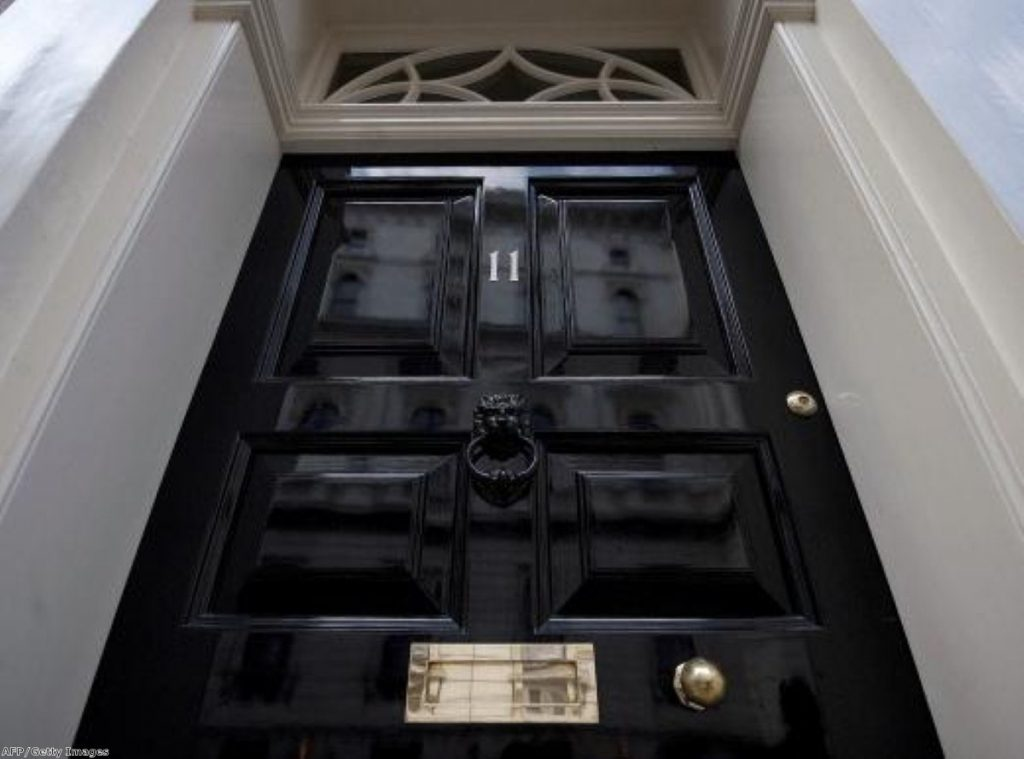 No 11, Downing Street: The chancellor readies himself for another black autumn statement