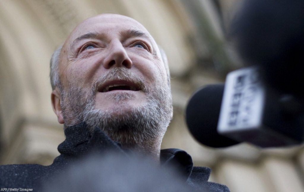 George Galloway is back in parliament - and back in our top ten gaffes list for 2012