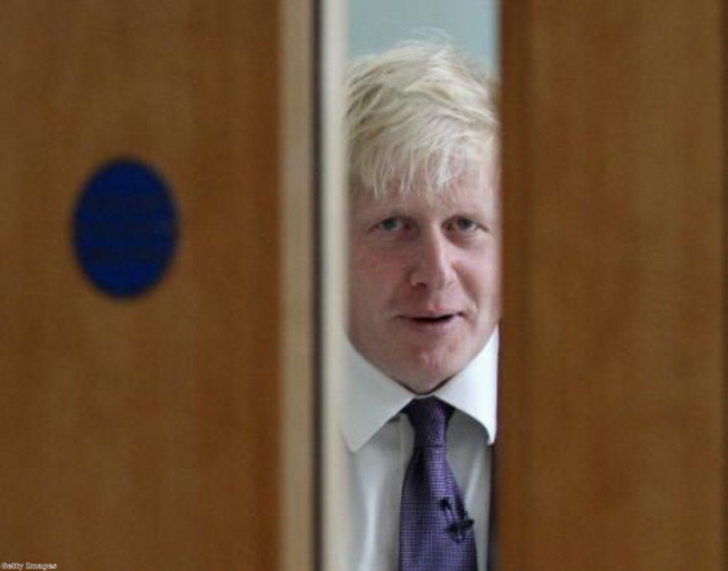 Boris: Taking aim at Danny Alexander