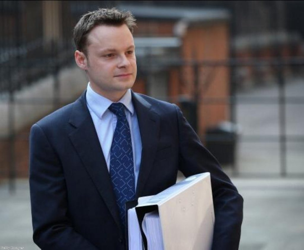 Adam Smith, Jeremy Hunt's former spad who was forced to resign over a lobbying scandal involving News Corp